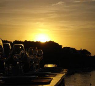 Genuss in der Abendsonne Hotel Poseidon Bahia