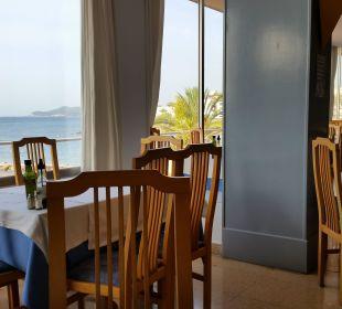 Aussicht aus dem Restaurant Hotel Ibiza Playa