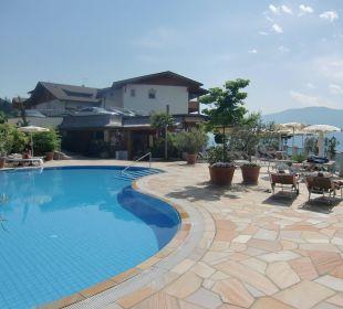 Swimmingpool beheizt Hotel Panorama