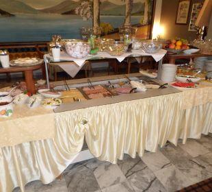 Umfangreiches Frühstücksbüffet Hotel Klein
