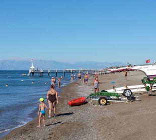 Aussicht vom Badesteg Belek Beach Resort Hotel
