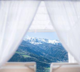 Herrliche Aussicht von der Hotelterrasse Hotel Hanswirt