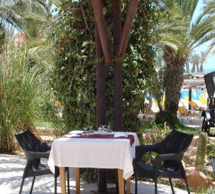 Terrasse Restaurant Hotel Safira Palms