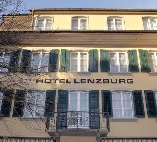Frontansicht Hotel Lenzburg
