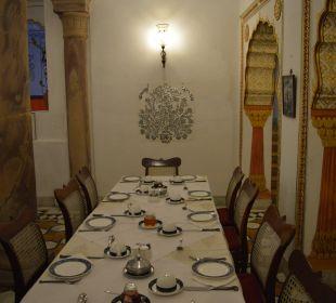 Frühstück Hotel Deogarh Mahal