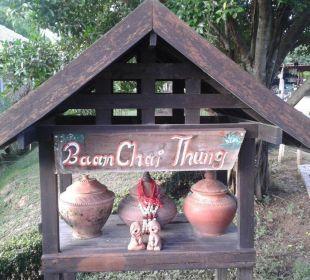 Schmuckstücke im Garten Hotel Baan Chai Thung