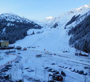 Blick vom Zimmer Hotel Lamark