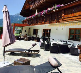 Terrasse zum Chillen Landhaus Rudigier