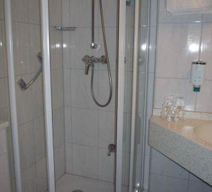 Blick ins Badezimmer Astor und Aparthotel