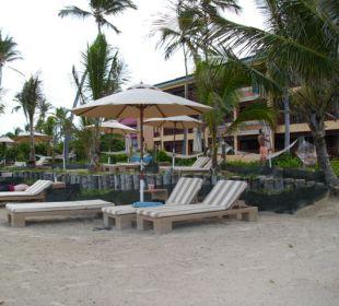 Ein Teil des Strandes VIK Hotel Cayena Beach Club