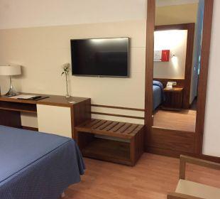 Teilsnsicht des Zimmers Hotel Hipotels La Geria