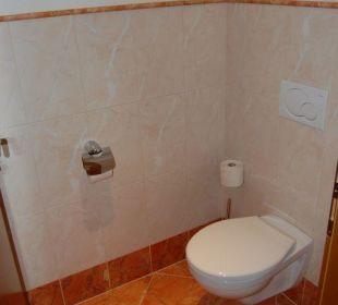 Separate Toilette im Zimmer Familienhotel Loipenstub'n