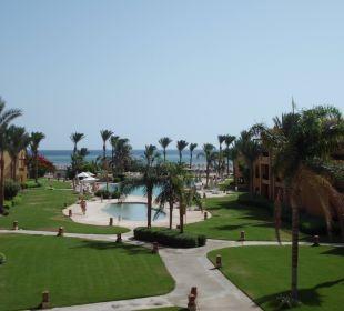 Von unserem Zimmer aus 5202 Stella Di Mare Beach Resort & Spa Makadi Bay