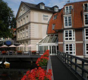 Hotel mit eigenem Steg über Ilmenau Romantik Hotel Bergström