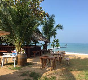 Blick vom Frühstückstisch La Flora Resort & Spa