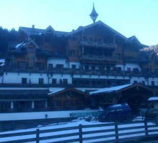 Ansicht von Strasseseite Hotel Großarler Hof