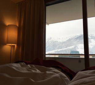 Blick auf Kitzsteinhorn Hotel Tauern Spa Zell am See-Kaprun