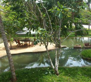 Gartenanlage Temple Point Resort