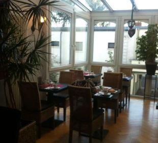 Frühstücksraum (Teilausschnitt) Hotel Residence Bremen