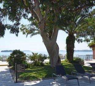 Gepflegte Gartenanlage Kontokali Bay Resort & Spa