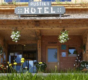 Außenansicht Hotel Rustika