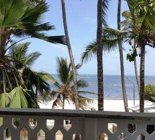 Blick vom Balkon Hotel Traveller's Club
