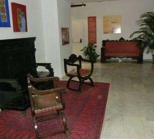 Schöne alte spanische Möbel Hotel Hacienda San Jorge