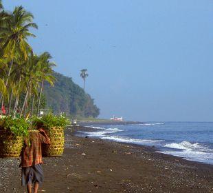Strand nach Westen Ciliks Beach Garden
