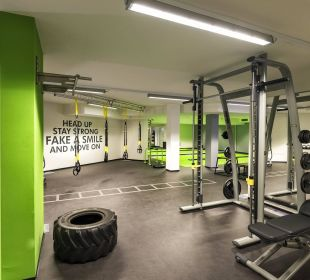Funcitonal Fitness Hall Luxury DolceVita Resort Preidlhof