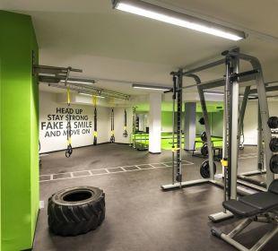Funcitonal Fitness Hall DolceVita Hotel Preidlhof