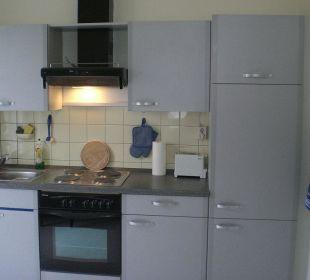 Küchenzeile Apartment mitten in Bamberg