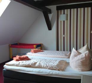 Sehr bequeme, nicht zu harte Betten Apart Hotel Wernigerode