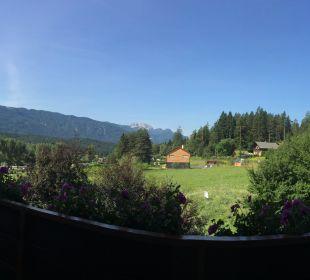 Ausblick vom Zimmer Komfort Alpen Adria Hotel & Spa