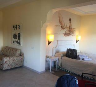 Unser geräumiges Doppelzimmer 4168 Lopesan Villa del Conde Resort & Spa