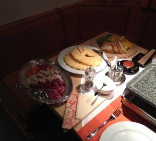 Sensationelles Raclette  Hotel Ladina