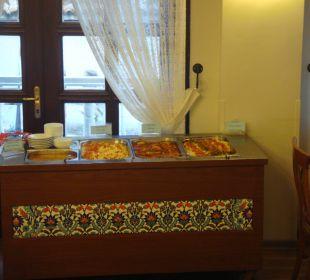 Abendbuffet warm Aspen Hotel