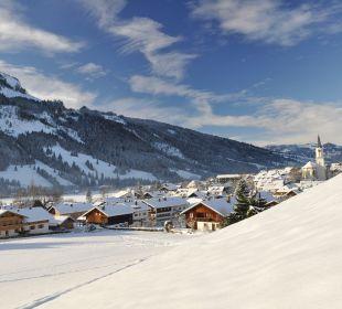 Bad Hindelang im Winter Schwandenhof Ferienwohnungen