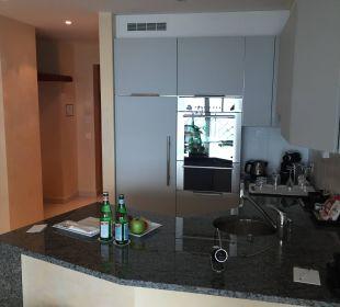 Küche Villa Orselina Boutique Hotel