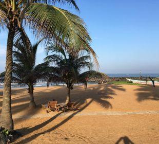 Blick vom Bungalow 112 Hotel Ranweli Holiday Village