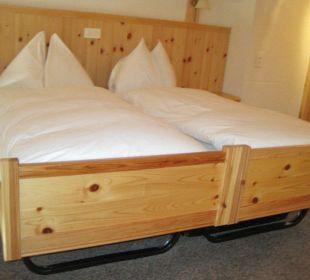 Elternbett Duplex Zimmer  Sunstar Alpine Hotel Wengen