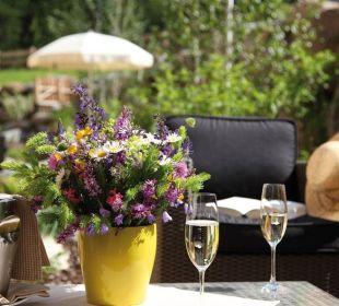 Wohlfühlen & Genießen im Hotelgarten Wohlfühlhotel Falzeben