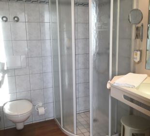 Badezimmer Hotel Zu den Drei Kronen