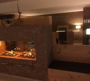 Wellnessbereich mit Infrarot Hotel Karwendelhof