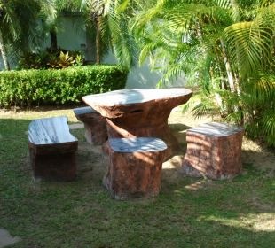 Romantische Sitzecke  Phuket Lotus Lodge