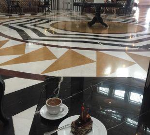 Türkischer Kaffee und Kuchen Hotel Delphin Imperial