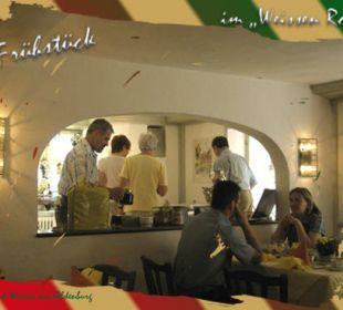 Der Frühstückbereich, ein schöner Raum. Flair Hotel Weisses Roß