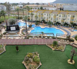 Außenpool Hotel Viva Tropic