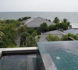 Ausblick vom Zimmer Hotel Rest Detail Hua Hin