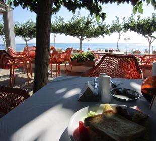 Aussicht beim Frühstück Hotel Corissia Princess