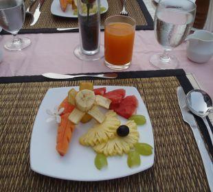 Früchteteller zum Frühstück Khao Lak Riverside Resort & Spa